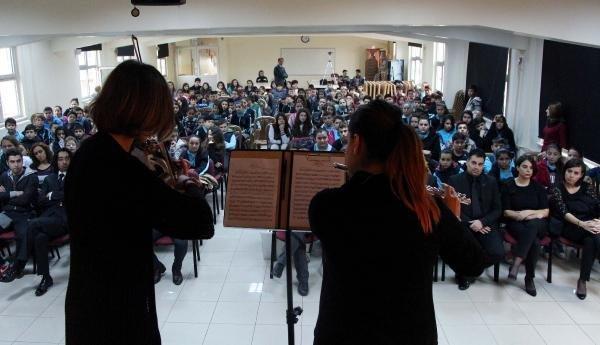 Çocukları Klasik Müzikle Buluşturan Proje