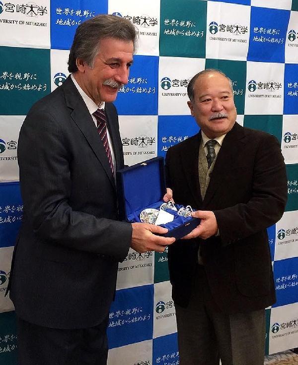 ERÜ'den Japonya Üniversitelerine Ziyaret