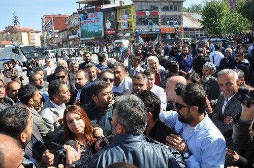 Muş'ta Basın Açıklaması Sonrası Olaylar Çıktı