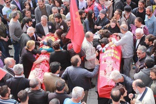 Patlamada Ölen Mak, Gür ve Güray'ın Cenazeleri Tunceli'de Toprağa Verildi