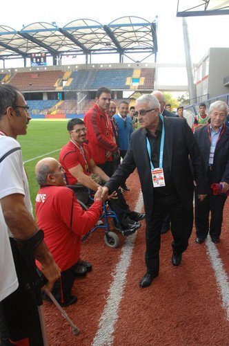 Karabükspor'dan Engelli Bilek Güreşi Türk Milli Takım Sporcularına Altın