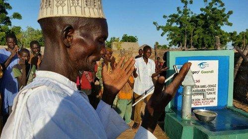 Kazada Vefat Eden Küçük İlker Anısına Afrika'da Su Kuyusu Açıldı