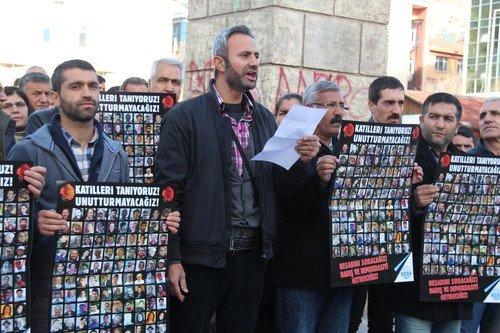 Ankara'daki Patlamada Ölenler Anıldı