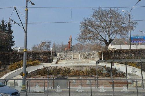 Alaaddin Tepesi'ndeki Orduevi Binası Yıkıldı