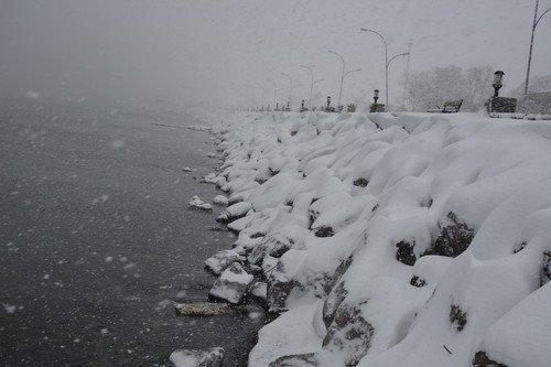 Bitlis'te Kartpostallık Kar Görüntüleri