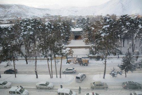 Tatvan'da Kar Durdu, Karla Mücadele Başladı