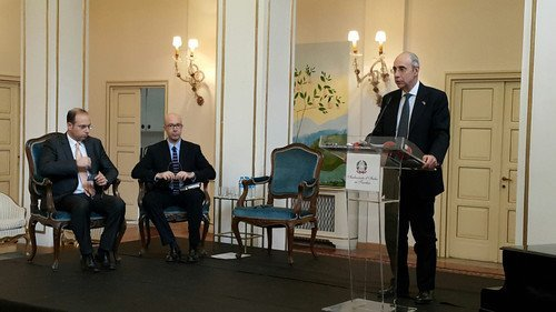 """Büyükelçi Mattiolo, """"İtalyan Ufukları 2016""""yı Tanıttı"""