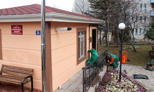 Çankaya'da Muhtarlık Binalarında Yenileme Sürüyor