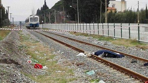 Yaşlı Çifti Tren Kazası Ayırdı