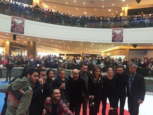 """""""Dedemin Fişi""""nin İzmir Galası Yapıldı"""