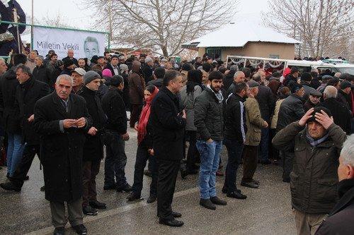 Kamer Genç İçin Cemevinde Cenaze Töreni Düzenlendi