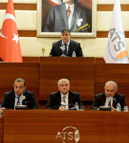 ATSO Başkanı Çetin: Artık Huzur İstiyoruz
