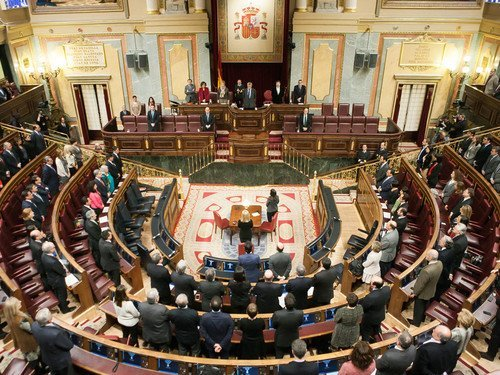 İspanya Meclisi'nde Koltuk Kavgası