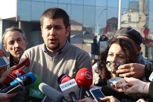 Kosova'da Muhalefetten Kornalı Eylem