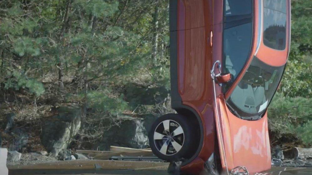 Volvo güvenlik testi