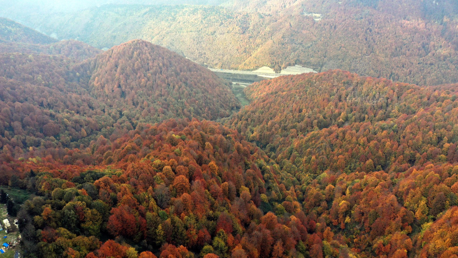 Bolu Dağı sonbaharda da çok güzel