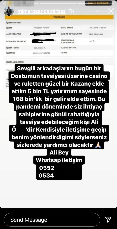 İzmirli mimarın Instagram hesabını çalan dolandırıcılar15 takipçiyi 250 bin lira dolandırdı